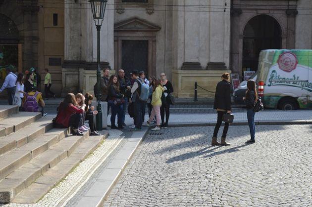 fotografie Exkurze po Praze