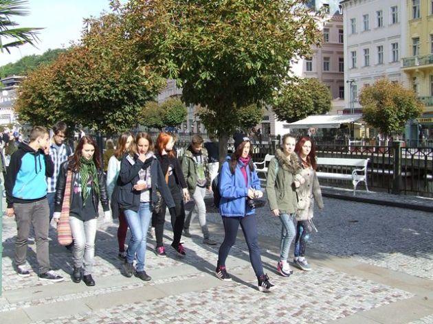 fotografie Seznamovací kurz prvního ročníku Karlovy Vary