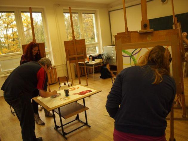 fotografie Workshop s Modrým klíčem