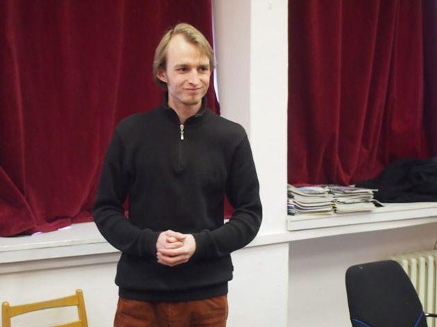 fotografie Přednáška na téma Ideový plakát třída pro 3 ročník