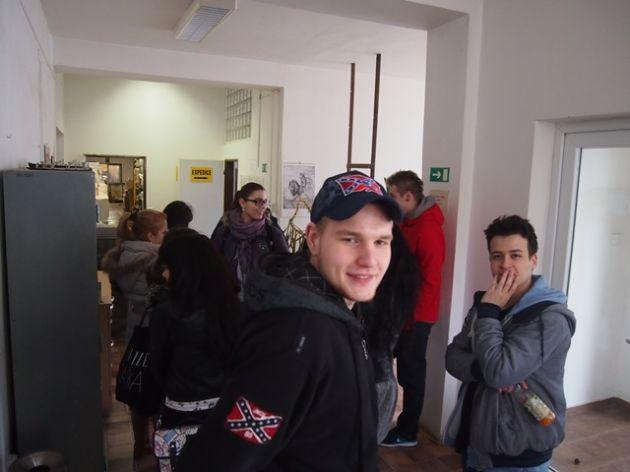 fotografie Exkurze v tiskárně TOMOS Praha