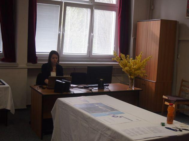 fotografie Prezentace praktické části maturitní zkoušky 4.V - 22. 4. 2015