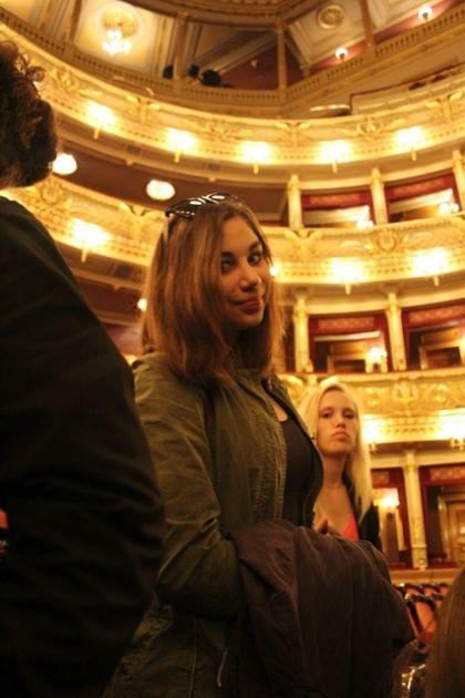 fotografie Exkurze do Národního divadla