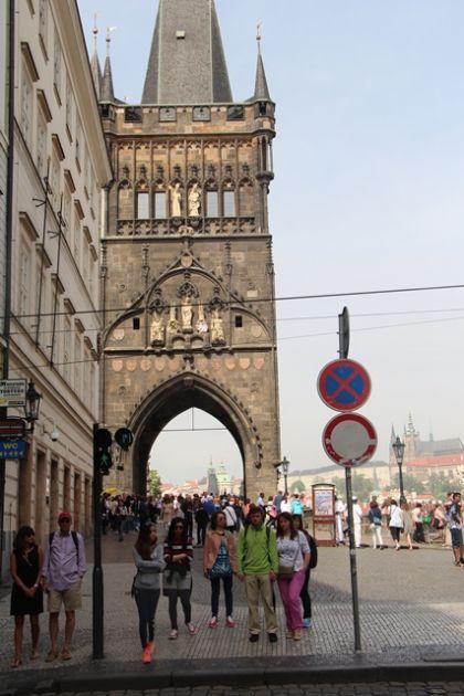 fotografie Exkurze prvního ročníku do Městské knihovny v Praze