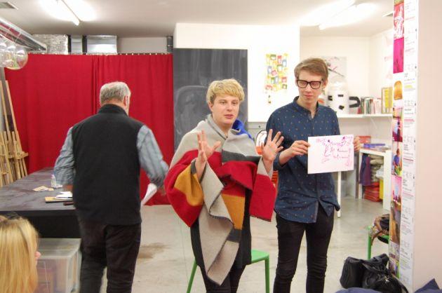fotografie Výstava v galerii DOX