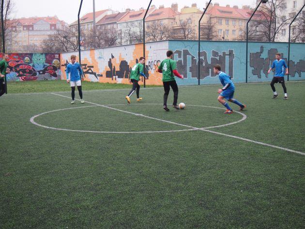 fotografie Futsalová liga - 2. kolo