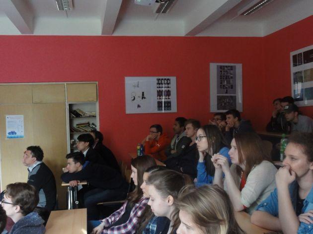 fotografie Přednáška - boj proti organizovaném zločinu