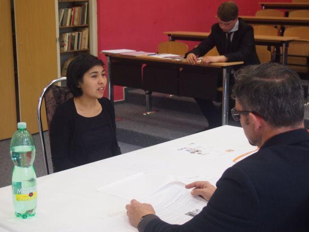 fotografie Ústní maturitní zkouška - 16. 5. 2016