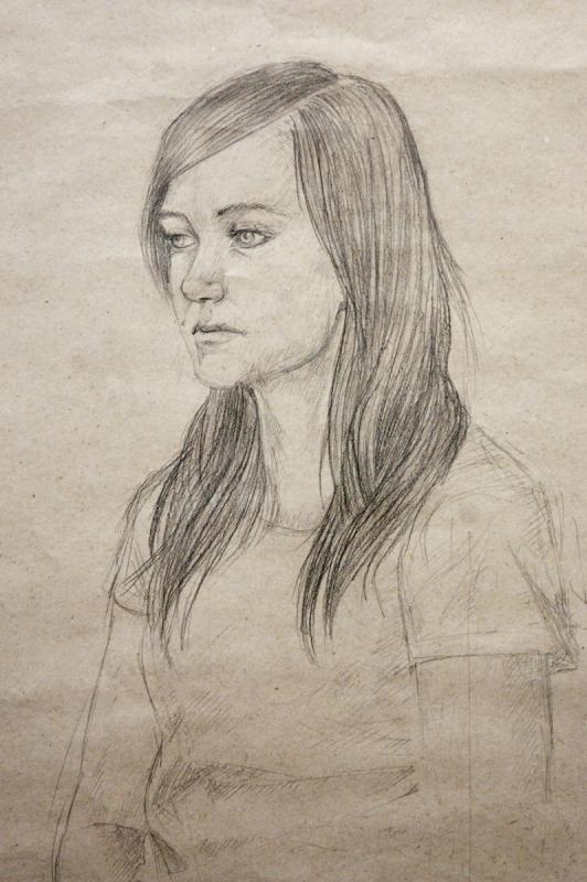 fotografie Z kurzů figuralni kresby pod vedením MgA. Šůstka 2013