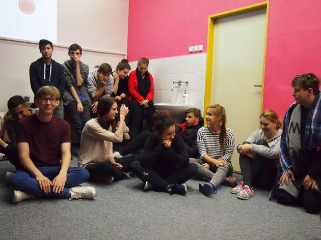 fotografie Přednáška Bakala Foundation