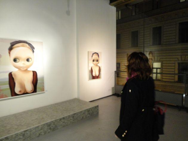 fotografie Vernisáž výstavy LOLITA