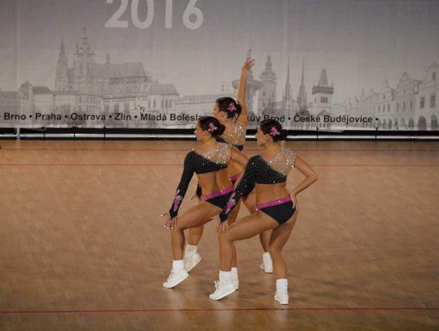 fotografie Sportovní úspěchy studentky 2.MV Adély Zankelové