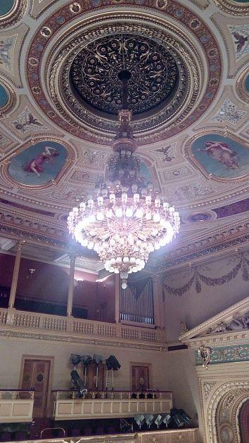 fotografie Exkurze v Národním divadle