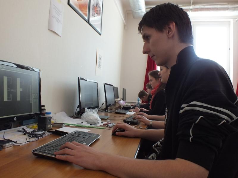 fotografie Praktická maturitní zkouška 4. ročníku oboru Grafický design - duben 2013