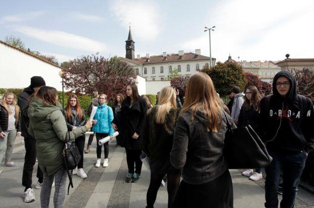fotografie Momentky z výstavy v NG a ve Valdštejnské jízdárně