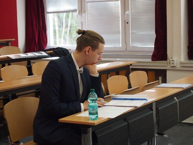 fotografie Ústní maturitní zkoušky 4.V