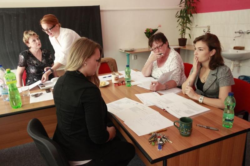 fotografie Maturitní zkouška 4 ročníků - květen 2013