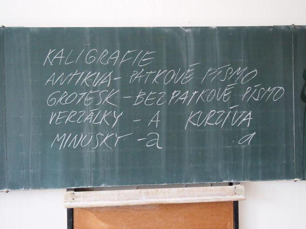 fotografie Výuka 3.V s MgA. Jiřím Tomanem Ph.D.