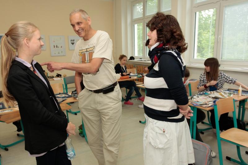 fotografie David Vávra - přednáška na téma: Koláž, 1. ročník 2012/2013