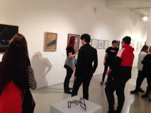 fotografie Exkurze do Centra současného umění DOX s komentovanou prohlídkou