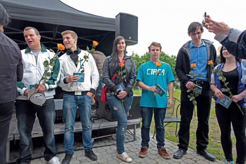 fotografie Zahradní slavnost 2012/2013 v Modrém klíči