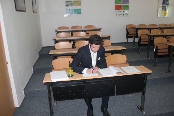 fotografie Ústní zkoušky společné a profilové části