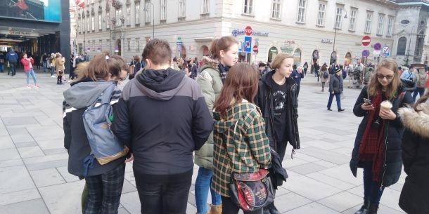 fotografie Exkurze do Vídně 2019