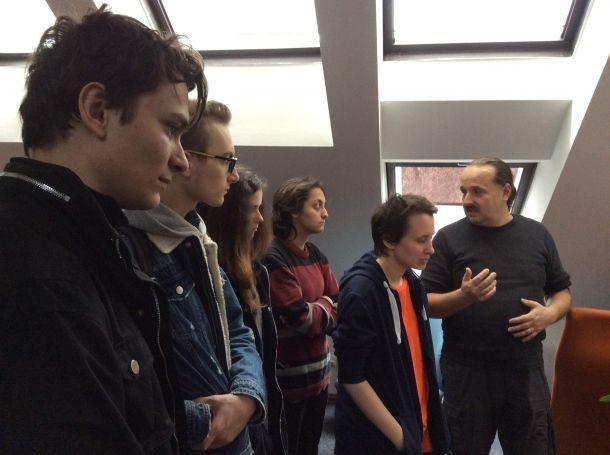 fotografie Odborná exkurze v animačním studiu Alkay Animation Prague 2019