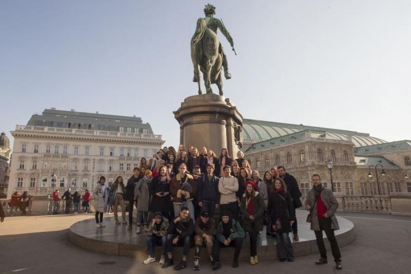 fotografie Odborná exkurze do Vídně