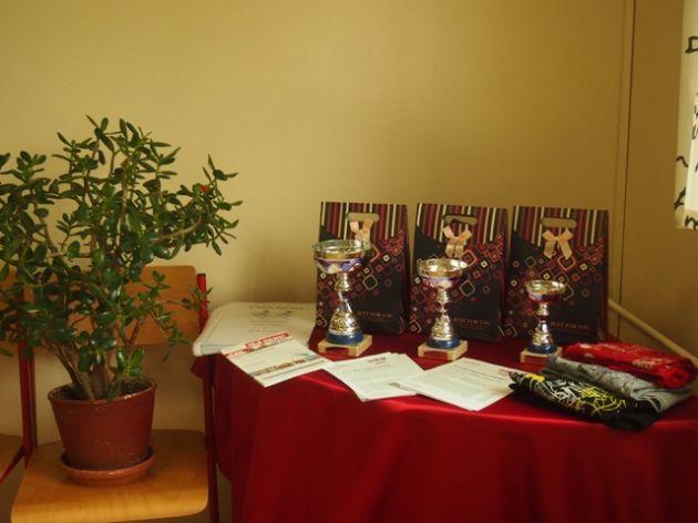 fotografie Soutěž pro žáky základních škol ve veslování 2013/2014