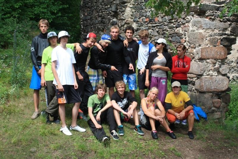 fotografie Vodácký výcvik 2011