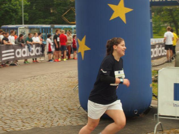 fotografie Juniorský maraton 2014