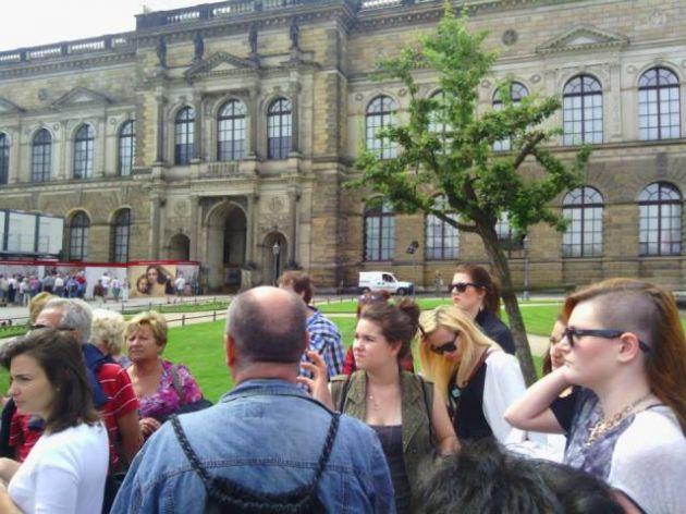 fotografie Odborná exkurze Drážďany 1.V