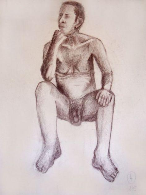 fotografie Výběr klauzurních prací 3.r 2013-2014 Figurální kreslení