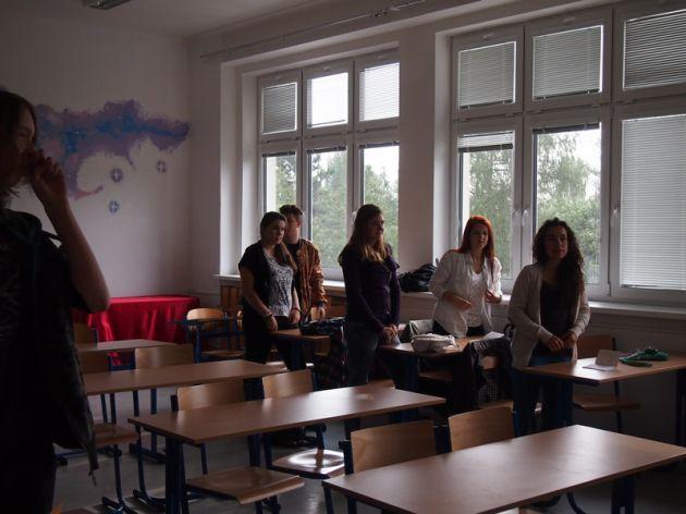 fotografie Začátek školního roku 2014/2015